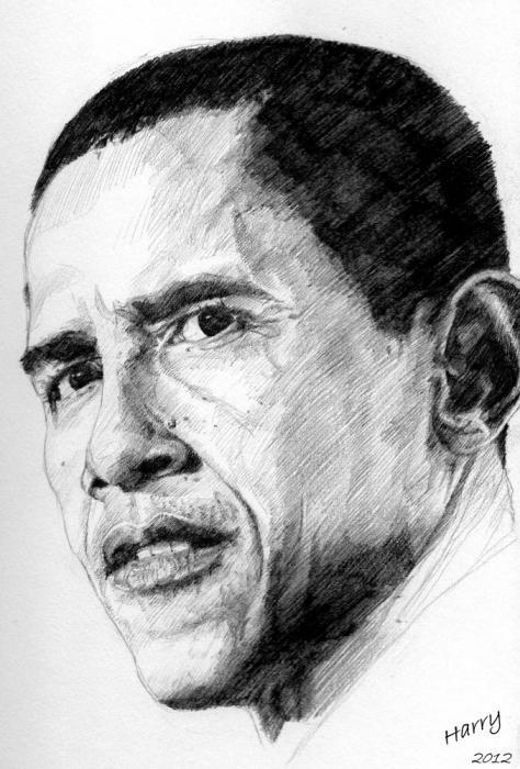 Barack Obama by HARRY